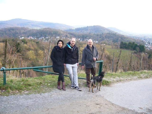 Doro und Fidi, Wolferl und ich